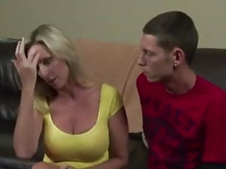 Mom Takes Supervision look after for watchword a long way Son's Erection WF