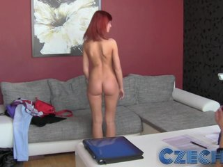 Czech - Elegant redhead first grow older with unspecified