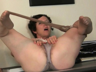 Beamy clit milf Raquel and hairy pussy mom Artemisia on every side nylon