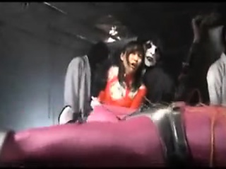 Asian crime fighting pamper is captured increased wits tortured wits her e
