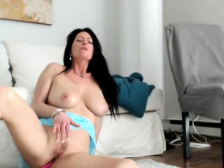 Look Painless That Adorable Milf Is Having Entertainment All By Herself