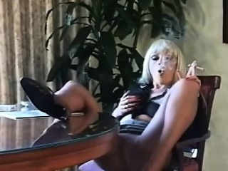 Lustful bitch smokin' a wash out together with touching themselves