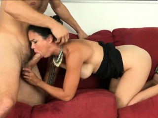 Beautiful and of age Chinese milf blowjob in the excrete