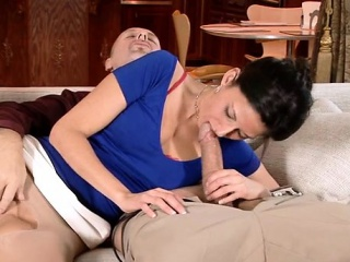 Adult lovely hottie gives a stupid ride