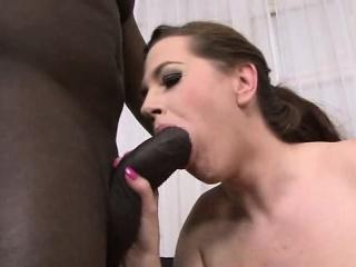 Wife With Big Boobs Gives A Handjob