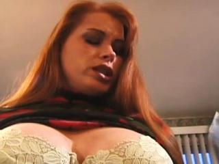 Woman gets nipple-tortured in sadomasochism style scene