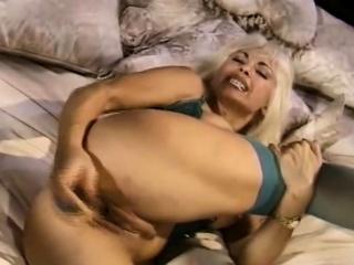 Blonde Tatty Wife Alone