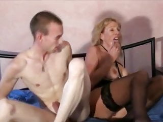 Full-grown Dominate MILF Takes Bulky Creampie By Youngsters Heavy Dick