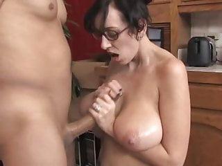 Big Saggy Tits MILF Glasses