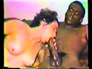 Interracial output hardcore with creampie