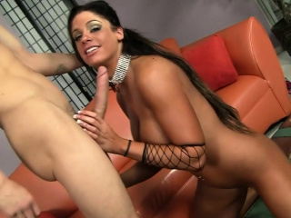 Be in charge hottie rides a jumbo dick
