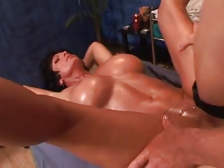 Foxy MILF Swedish Massage