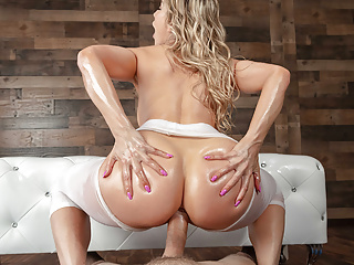 Yoga MILF Turn Into An Anal Mammal - Ashley Fires