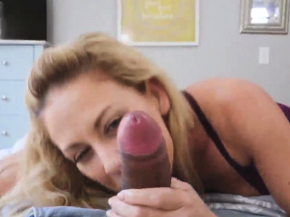 Blowjob expectations fellatio with an increment of old lady pal' supplemental Cherie De