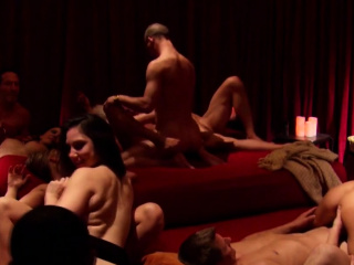 The red room gets conscious of with hot asses