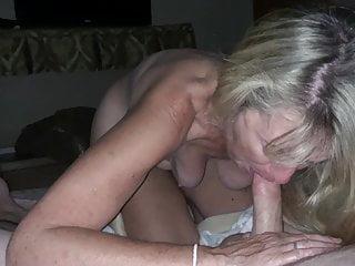 Grannie saggy tits sucks fat unearth