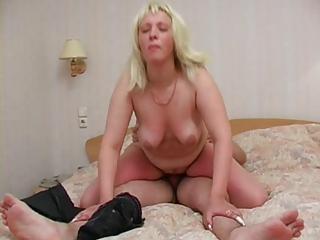 Sexy plump Vika