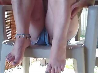 sweet petite with very sexy feet
