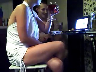 Wife and her friends took off for the camera. Sexwife
