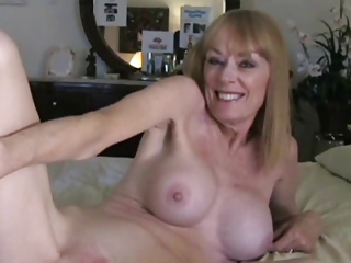 Milf Takes a Creampie wean away from Young Guy