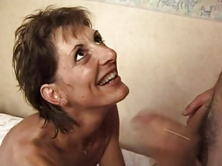 FRENCH MATURE 17 intake puristic anal mom milf in threesome