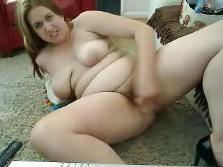 saggy bowels bbw cam-slut working-out