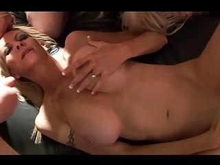 EMMA IN A GANGBANG!!!! (CUM SLUT MILF)