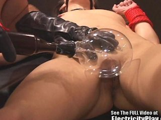 Blackmailed Bitch Electrocuted with an increment of Fucked by