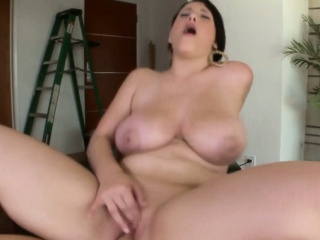 Curvy big titted booty cosset fucked