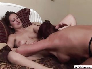 MILF Magdalene seduces babe Elexis and gets fuck with nice pussy licking on her clitoris