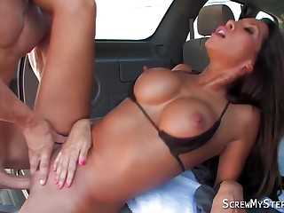 Stunning MOM seducing stepson